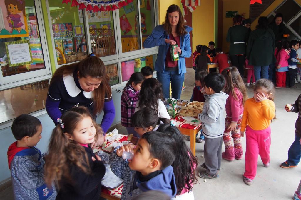 Chilenische Spezialitäten für die Kinder!
