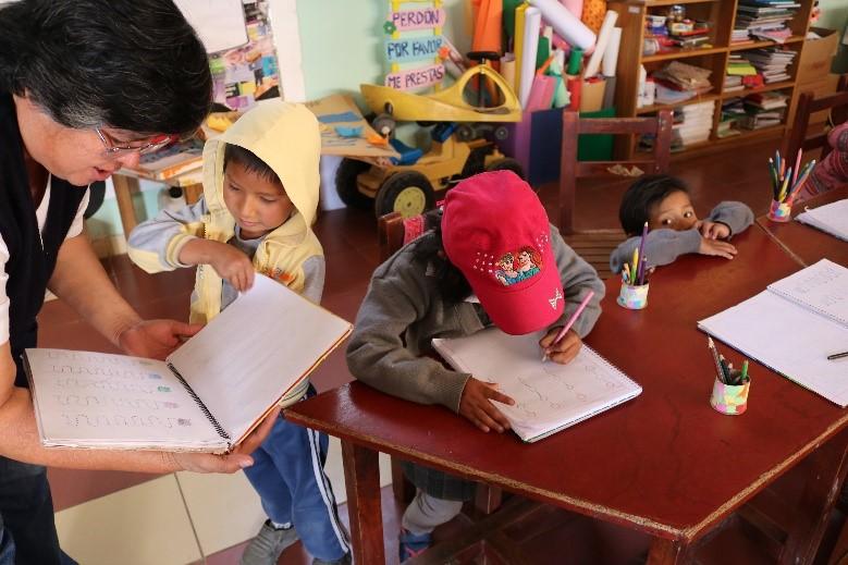 Fundación Cristo Vive in Bolivien