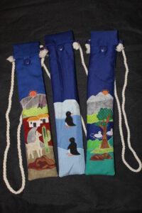 Textile Handarbeiten aus Chile